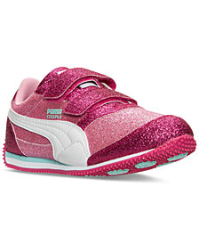 Puma Little Girls' Steeple Glitz Glam Casual Sneakers from Finish Line