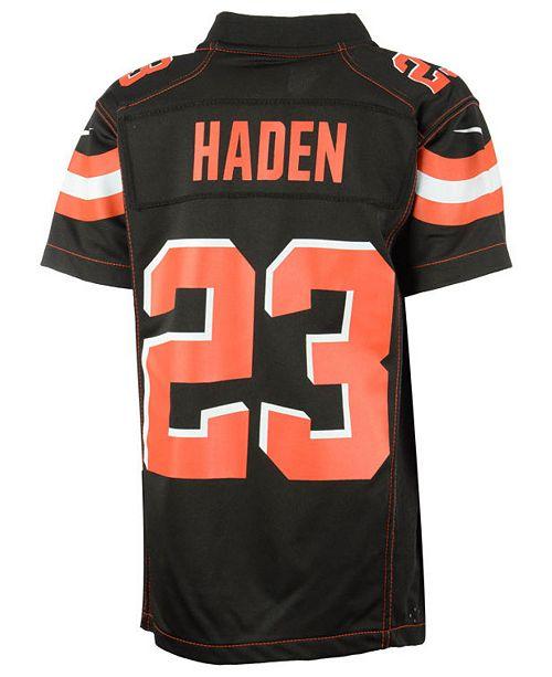 new style b68d6 d299d Nike Joe Haden Cleveland Browns Game Jersey, Toddler Boys ...