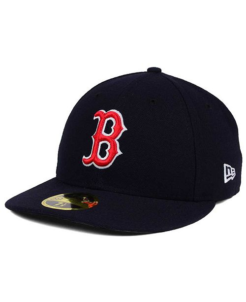 ... New Era Boston Red Sox Low Profile AC Performance 59FIFTY Fitted Cap ... cdd8506b4df4