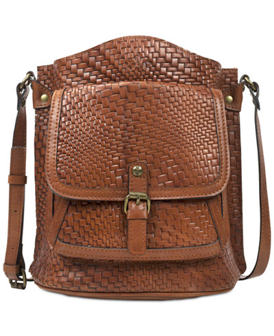 Patricia Nash Woven Lavello Small Sling Bag