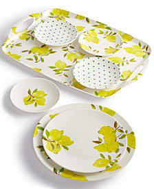 kate spade new york Lemon Melamine Dinnerware Collection