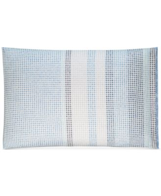 CLOSEOUT!  Cotton Engineered Dots Standard Sham, Created for Macy's