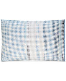 CLOSEOUT! Hotel Collection  Cotton Engineered Dots King Sham, Created for Macy's