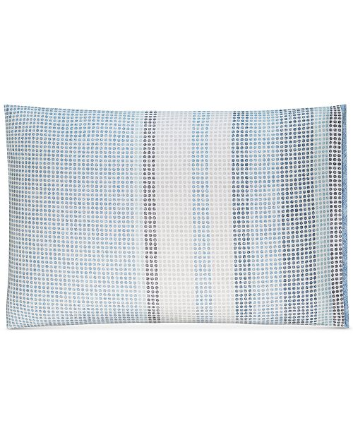 Hotel Collection  CLOSEOUT!  Cotton Engineered Dots Standard Sham, Created for Macy's