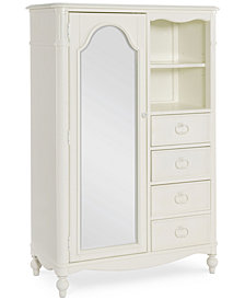 Harmony Kids 4 Drawer Mirrored Door Chest