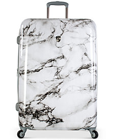 """Heys Bianco Stone-Print 30"""" Hardside Spinner Suitcase"""