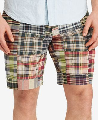 Polo Ralph Lauren Men's Big and Tall Madras Plaid Shorts - Shorts ...