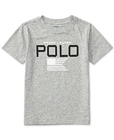 Ralph Lauren Little Boys Graphic-Print T-Shirt