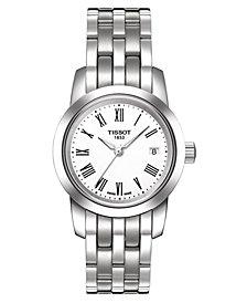 Tissot Women's Swiss Classic Dream Stainless Steel Bracelet Watch T0332101101300