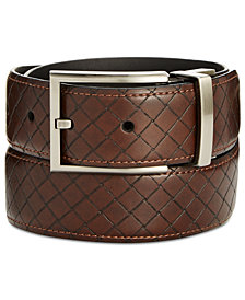 Ryan Seacrest Distinction™ Men's Embossed Belt