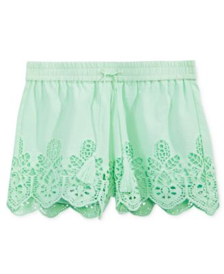 Image of Imperial Star Eyelet Shorts, Big Girls (7-16)