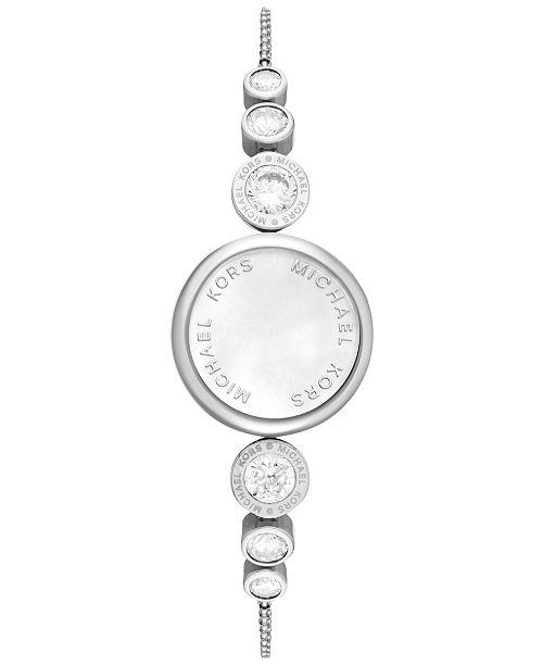 3a4ce4906c7e ... Michael Kors Access Women s Varick Stainless Steel Slider Bracelet Activity  Tracker 24mm MKA101021 ...