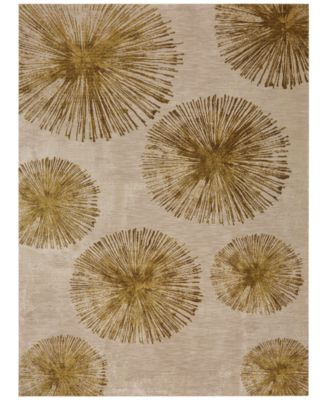 """Cosmopolitan Haight Brushed Gold 9'6"""" x 12'11"""" Area Rug"""