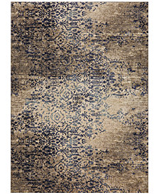 Karastan Cosmopolitan Virginia Langley Nirvana Indigo Area Rug Collection