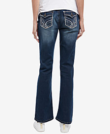 Motherhood Maternity Boot-Cut Light Wash Jeans