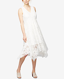 Taylor Maternity Lace Midi Dress