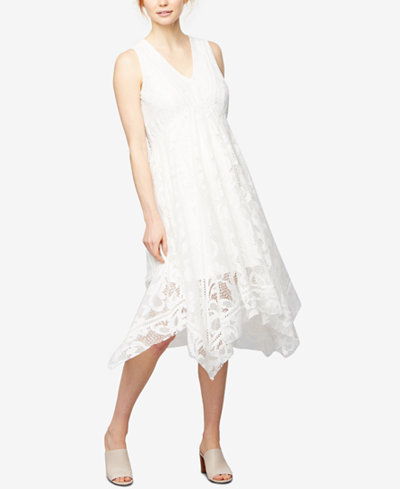 Taylor Maternity Lace Midi Dress