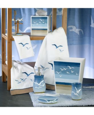 Avanti Seagulls Bath Accessories Collection Bathroom Accessories