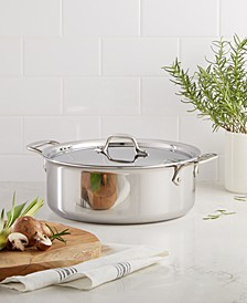 Stainless Steel 6 Qt. Covered Stockpot