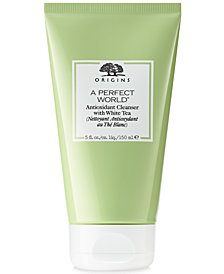 Origins A Perfect World Antioxidant Cleanser With White Tea, 5 oz