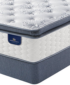 Perfect Sleeper Graceful Haven 13 75 Plush Pillowtop Mattress Set Queen