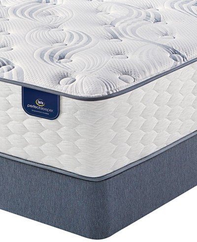 Serta Perfect Sleeper® Graceful Mist 12 Cushion Firm Mattress Set- Queen