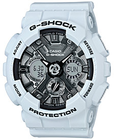G-Shock Women's Analog-Digital S Series Blue Resin Strap Watch 46mm GMAS120MF-2A