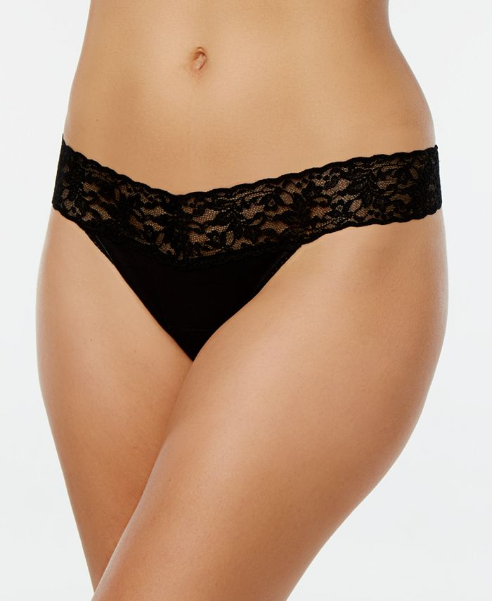 Hanky Panky - Low-Rise Lace Thong 891581