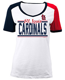 5th & Ocean Women's St. Louis Cardinals CB Sleeve T-Shirt