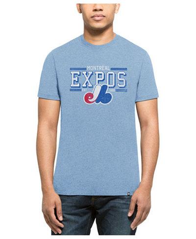 '47 Brand Men's Montreal Expos Club Lineup T-Shirt