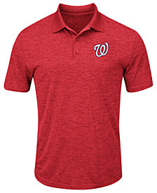 Majestic Men's Washington Nationals First Hit Polo Shirt