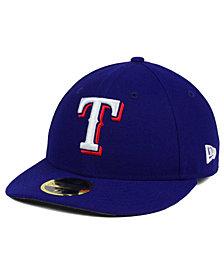 New Era Texas Rangers Low Profile AC Performance 59FIFTY Cap