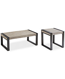 Ainsworth Table Furniture Set, 2-Pc. Set (Coffee Table & End Table), Created for Macy's