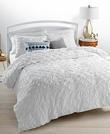 Whim by Martha Stewart Collection You Compleat Me White Duvet Sets, Created for Macy's