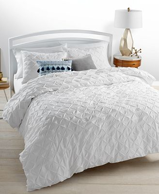 Whim by Martha Stewart Collection You Compleat Me White Bedding Collection, Only at Macy's