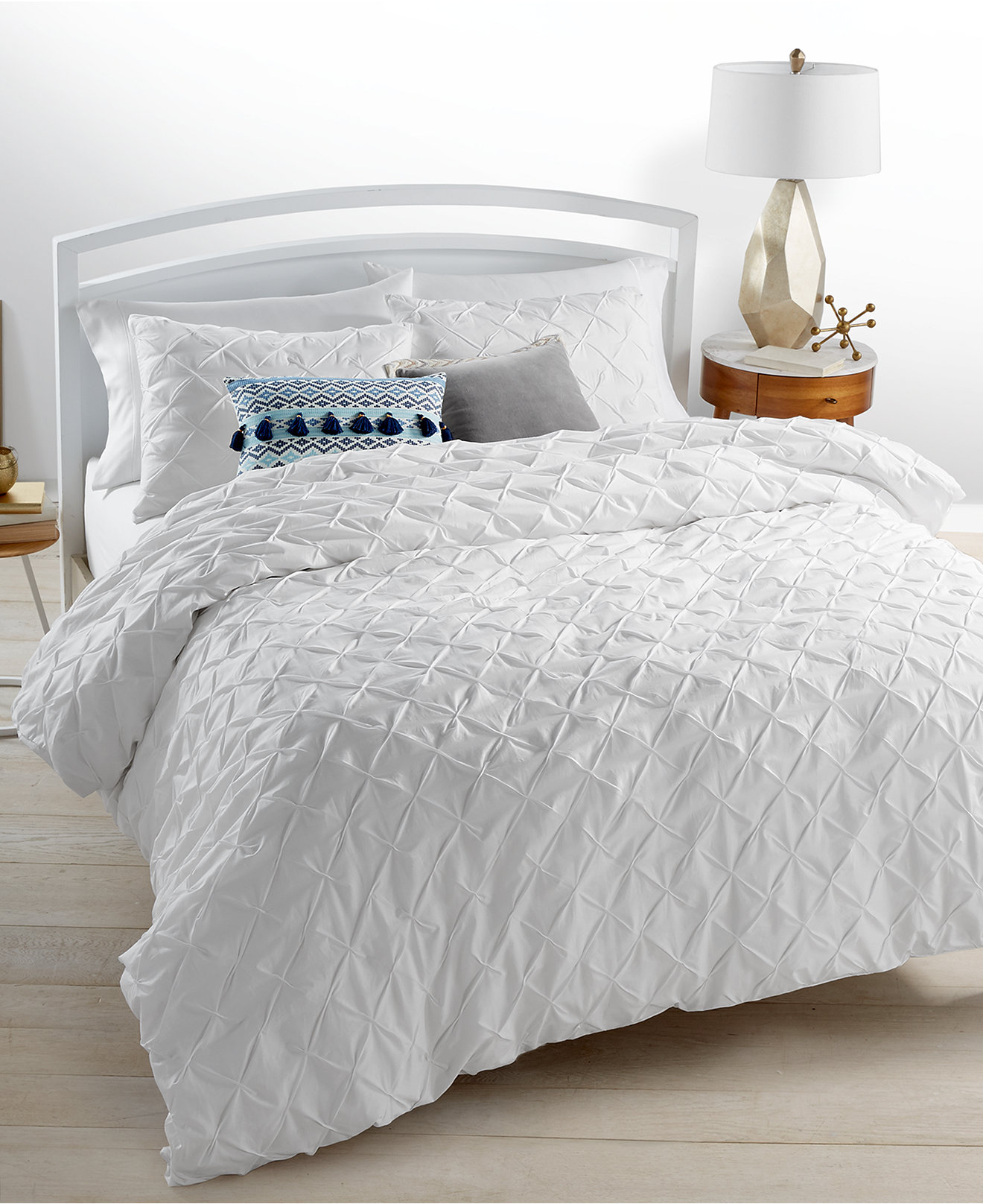 martha stewart bedding and bath collection  macy's - whim by martha stewart collection you compleat me white bedding collectioncreated for macy's