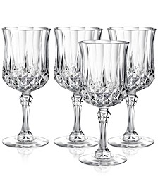 Cristal D'Arques Set of 4 Goblets
