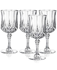 Cristal D'Arques Longchamp Set of 4 Goblets