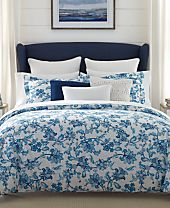 CLOSEOUT! Tommy Hilfiger Camden Floral Bedding Collection