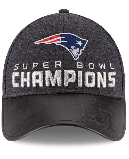 368801bc42e ... Adjustable Cap  New Era Kids  New England Patriots Super Bowl LI Champ  Locker Room 9FORTY Adjustable ...