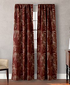 """Tommy Bahama Home Caya Coco Cotton 84"""" x 42"""" Pair of Window Panels"""
