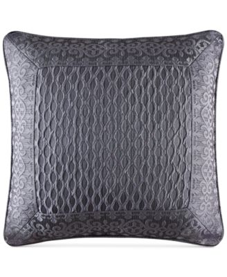 "Bohemia Graphite 20"" Square Decorative Pillow"