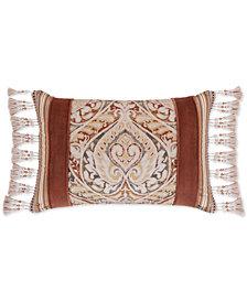 "J Queen New York Serenity Spice 15"" x 21"" Boudoir Decorative Pillow"