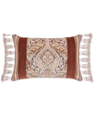 J Queen New York Serenity Spice 15 x 21 Boudoir Decorative Pillow Bedding