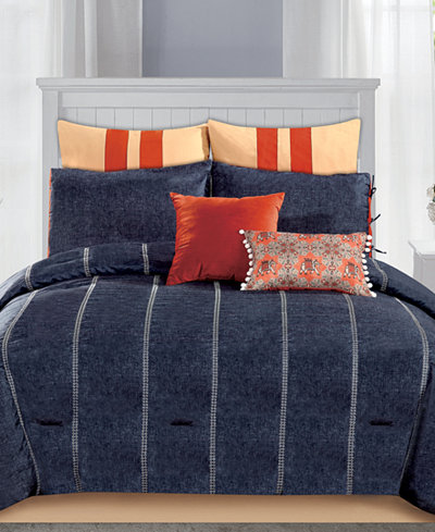 CLOSEOUT! Vanalden 8-Pc. Comforter Sets
