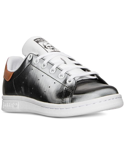 save off 78b51 bce03 ... adidas Big Boys  Stan Smith Lentic Casual Sneakers from Finish Line ...