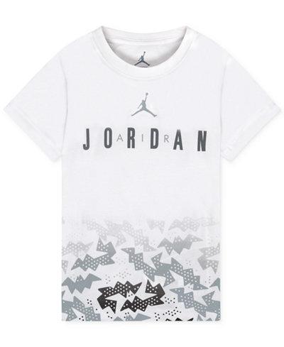 Jordan Graphic-Print Cotton T-Shirt, Toddler & Little Boys (2T-7)