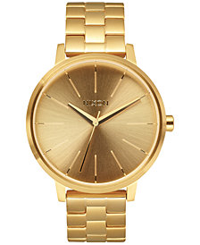 Nixon Women's Kensington Stainless Steel Bracelet Watch 37mm A099