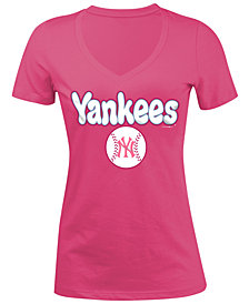 5th & Ocean New York Yankees Retro Inspo T-Shirt, Girls (4-16)