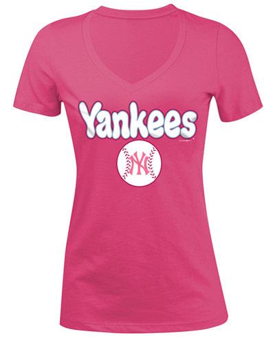 5th & Ocean New York Yankees Retro Inspo T-Shirt, Girls (4-16)